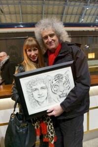 Me and Brian May!!!