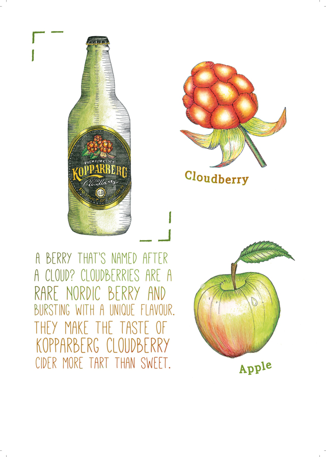 Cloudberry Ingredients