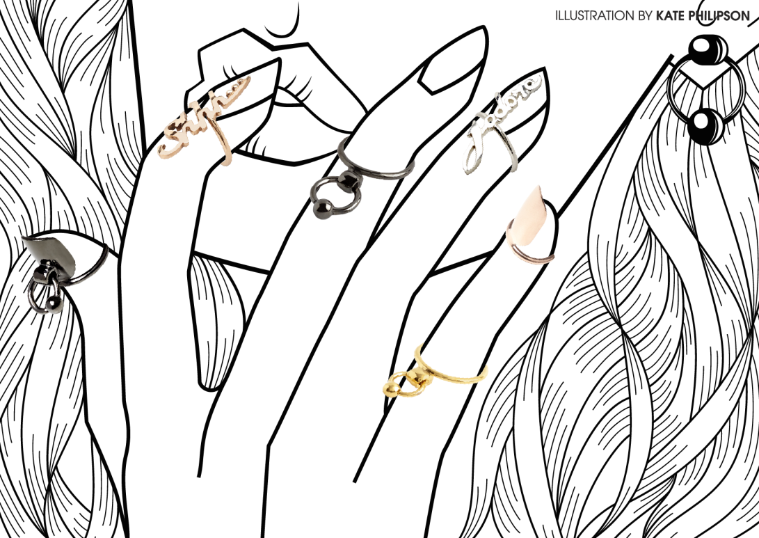 H&H Lookbook - illustration by Kate Philipson