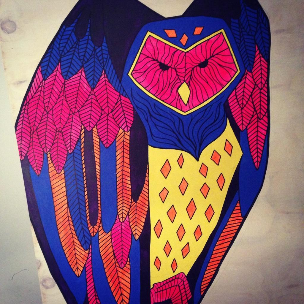 Menacing Owl