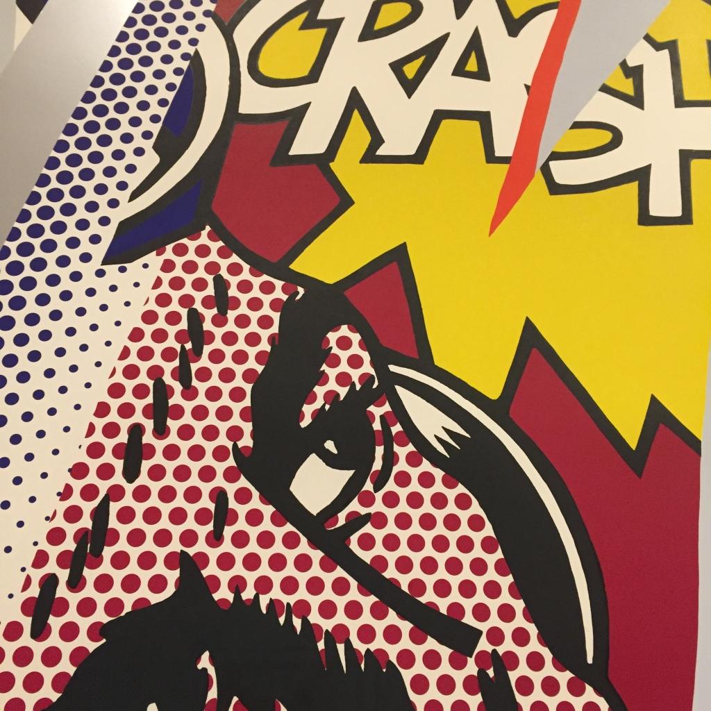 Roy Lichtenstein - detail