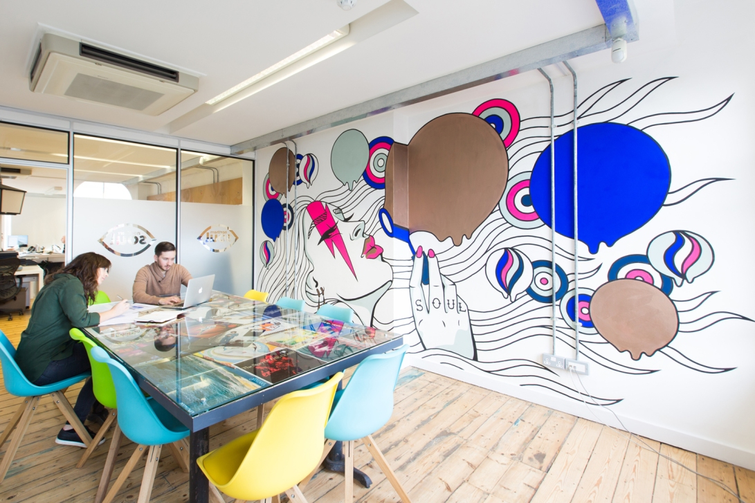 Mural Design by Kate Philipson